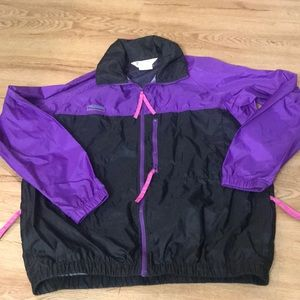 Columbia Windbreaker size large women's